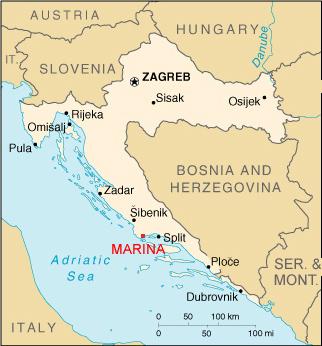 kart over kroatia Kroatia Marina – Kroatiaporten kart over kroatia